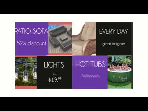 Patio Ideas at Bargain Prices Everyday. Patio Discount Store.
