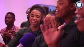 ZABRON SINGERS NDANI YA CLOUDSFM #GOSPELTRAXX
