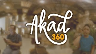 360° Akad - Payung Teduh Cover by Luthfi Azhar - VR 4K by ARTBiZ