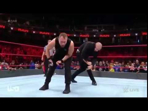 WWE 24 Sep 2018 || The Shield vs Corbin & AOP
