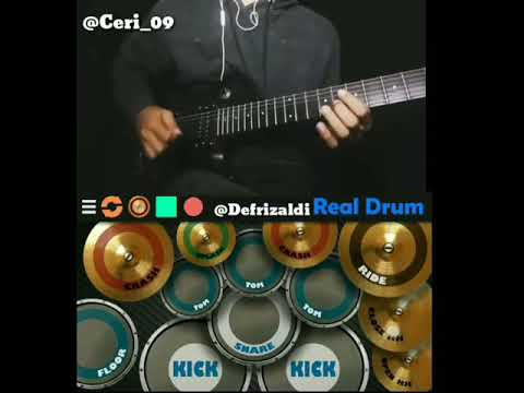 Upiak Isil - Tak Tun Tuang Cover (real drum)