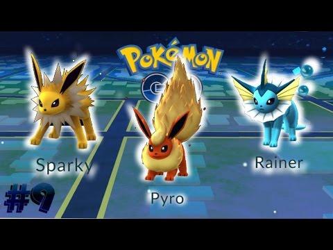 Pokemon go eevee evolution how to evolve into vaporeon jolteon and flareon also rh youtube