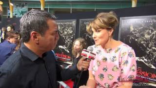 The Possession - Exclusive Interview Lucy Lawless