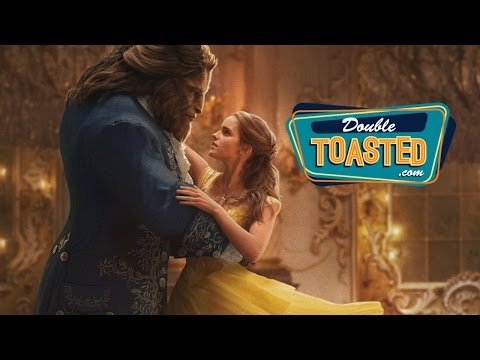 BEAUTY AND THE BEAST 2017 MOVIE TRAILER REACTION - Double Toasted Review