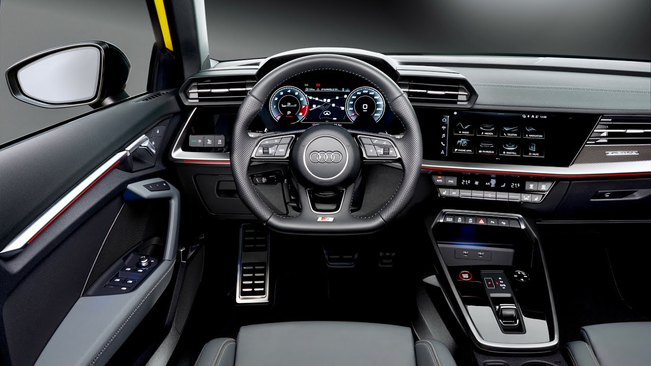 2021 AUDI S3 Sportback - CRAZY INTERIOR (digital cockpit ...