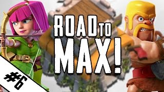 "Clash Of Clans | ""ROAD TO MAX TH8 EP.6"" Max King + $200 Gem Giveaway!"