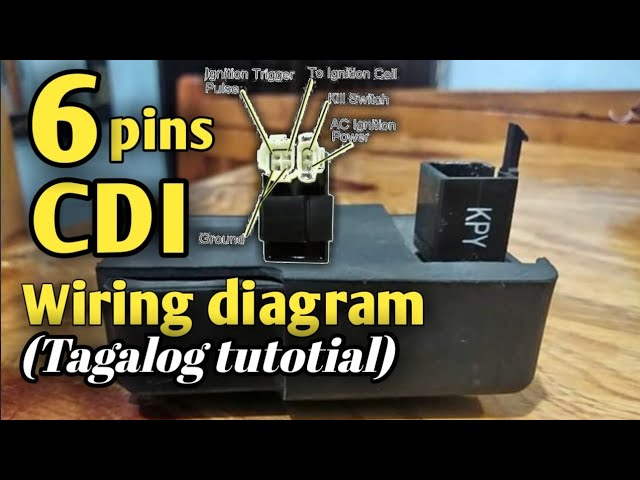 6 Pin CDI.Conection and wiring diagram.(Tagalog tutorial) part 3 - YouTube | Gy6 Dc Cdi Wiring Diagram |  | YouTube
