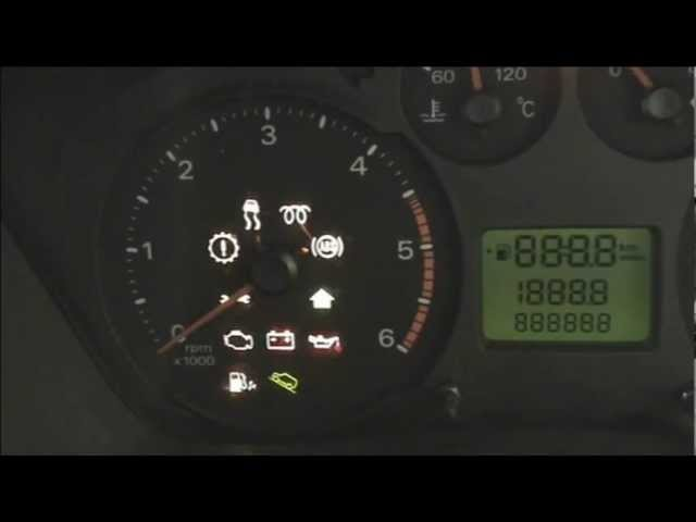 Service Light Reset Ford Transit Youtube