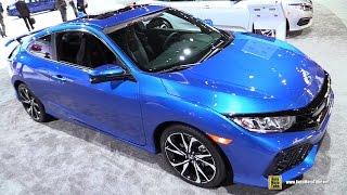 2017 Honda Civic Si Coupe - Exterior and Interior Walkaround - 2017 NY Auto Show