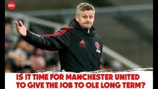 Should Solskjaer be Manchester United's long-term manager? | #OTBAM