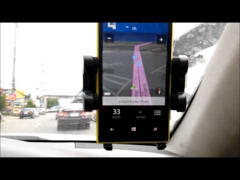 แนะนำการใข้งาน Nokia Lumia 720 Here Drive