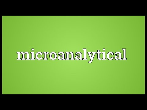 Header of microanalytical