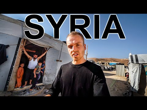 VISITING SYRIA BORDER TOWN (Extreme Travel in Middle East)
