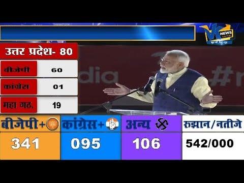 पीएम मोदी ने रचा इतिहास, इंदिरा गांधी को पछाड़ा Loksabha Election result 2019 Live on VK News