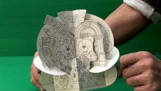 Amazing 3D Pop Up Cards - Dancing Bears (Uncompleted)