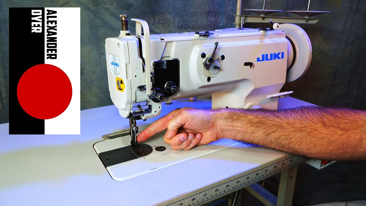 Download This is the Industrial Sewing Machine You Want and Why. Juki 1541 Triple Feed Walking Foot