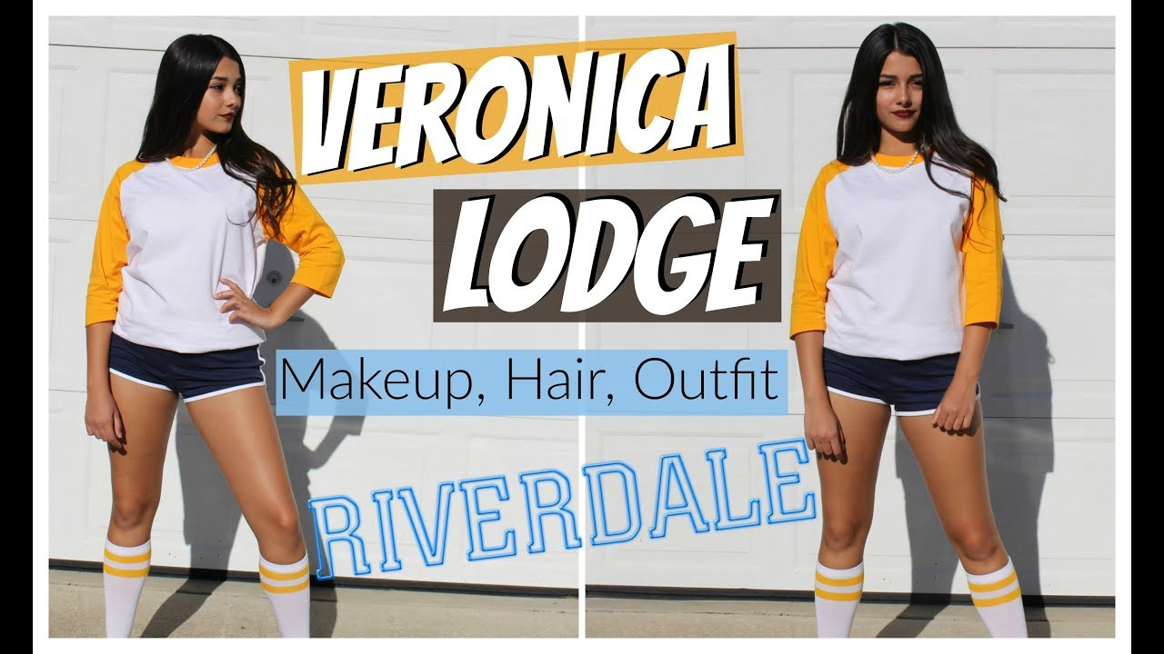 get the look veronica lodge makeup hair and costume