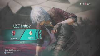 Devil May Cry 5 - mission 17 - Dante vs Urizen - difficult: Dante must die.