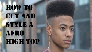 How to Hi-Top Cut Tutorial By Kieron The Barber
