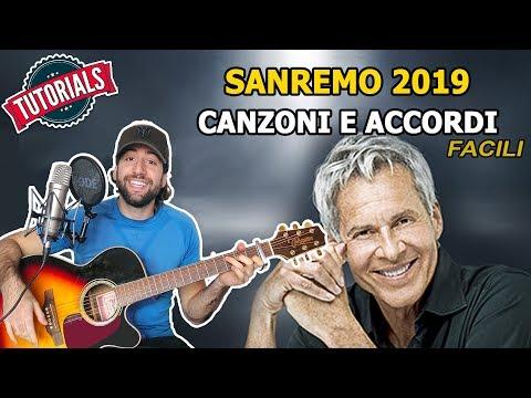 Le Canzoni di SANREMO con Accordi Facilitati - FESTIVAL 2019