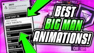 BEST CENTER ANIMATIONS IN NBA 2K20! BEST POST MOVES, DUNK PACKAGES AND LAYUPS IN NBA 2K20!