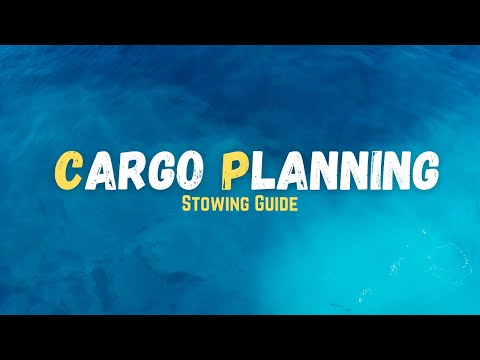 Cargo Planning || Stowing Guide || Maritime Calculation Tutorials