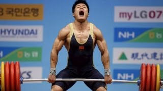 2013 China National Games Weightlifting Men