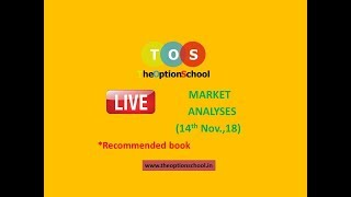 Live Option Chain Analyses and a book recommendation byTHE OPTION SCHOOL