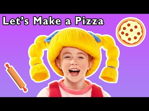 Let's Make a Pizza and More | TASTY EATING RHYMES | Baby Songs from Mother Goose Club!