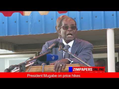 President Mugabe on price hikes
