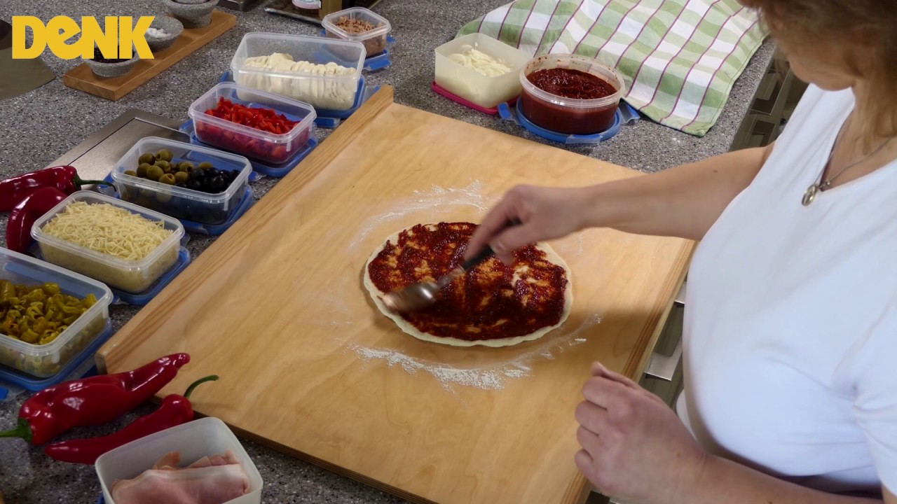 Pizzaplatte - DENK-Keramik - YouTube