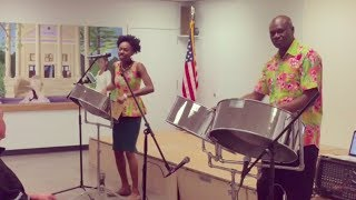 'Hot Hot Hot' - Steel Impressions Steelband Amityville Public Library