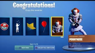 "*QUICK!* SKIN FROM IT 2 ""FREE"" IN FORTNITE ! FORTNITE X IT [EXCLUSIVE SKIN]!"