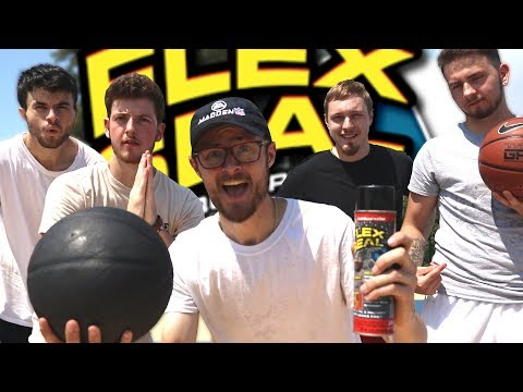 We FLEX-SEALED a Basketball and it was the Greatest Idea Ever!