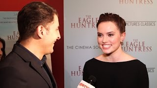 """Daisy Ridley at """"The Eagle Huntress"""" NY Premiere Behind The Velvet Rope with Arthur Kade"""