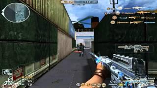 Gameplay M4A1 Dragão Cyborg Modo-HS (CF/AL)