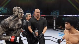Jeepers Creepers vs. Bruce Lee (EA Sports UFC 2) - CPU vs. CPU