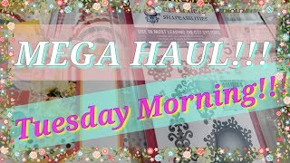 2019 Tuesday Morning MEGA Haul!!!