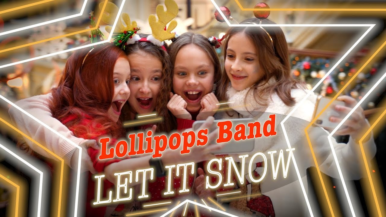 ☃️🎄❄️ LET IT SNOW - Great cover by LOLLIPOPS BAND || Участницы Голос Дети Christmas songs