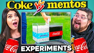 Baixar Adults React To Coca Cola and Mentos Experiments