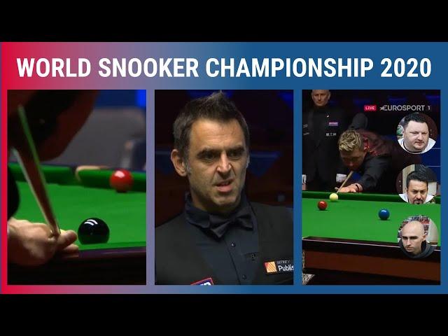Semifinal e final do mundial de Snooker 2020 - Nossa opinião