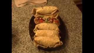 Homemade BLT Wraps with Homemade Tortilla Wraps Part 33