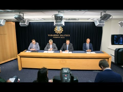 Valitsuse pressikonverents, 17. august 2017