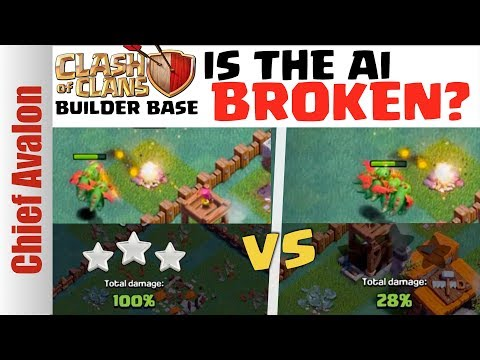 IS THE TROOP AI BROKEN? | SAME ATTACK, SAME BASE, DIFFERENT RESULT! | Clash of Clans Builder Base