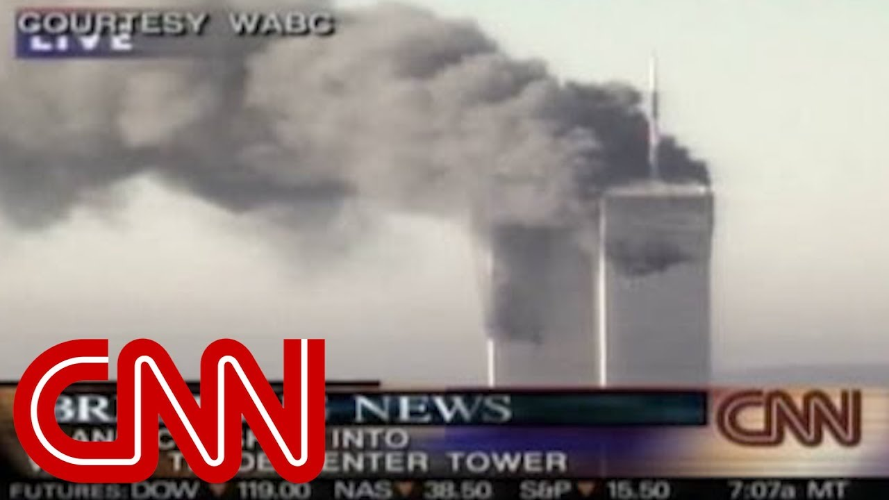 9/11: Second plane hits South Tower - YouTube