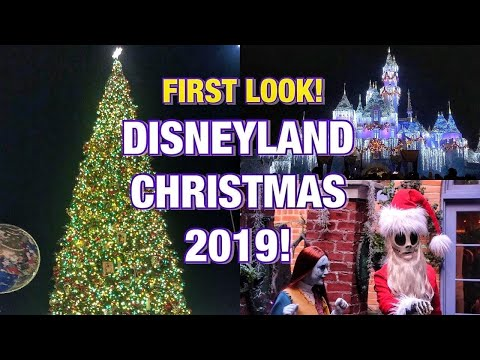 The Holidays Are Here At Disneyland For 2019!Food, Merchandise, Parade, Castle Lighting & Fireworks!
