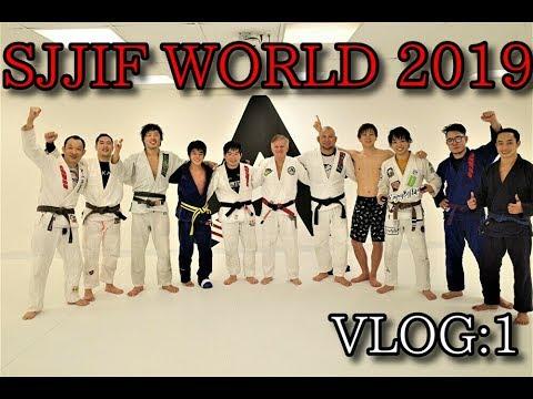 SJJIF WORLD 2019 VLOG:1 Aloisio Silva academy