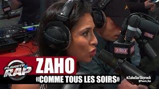 """Zaho """"Comme tous les soirs"""" en live #Plane?teRap"""