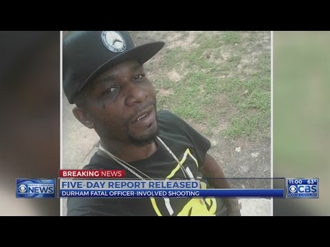 Durham officials release report on deadly police shooting