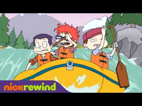 Whitewater Rafting Trouble | All Grown Up | NickRewind